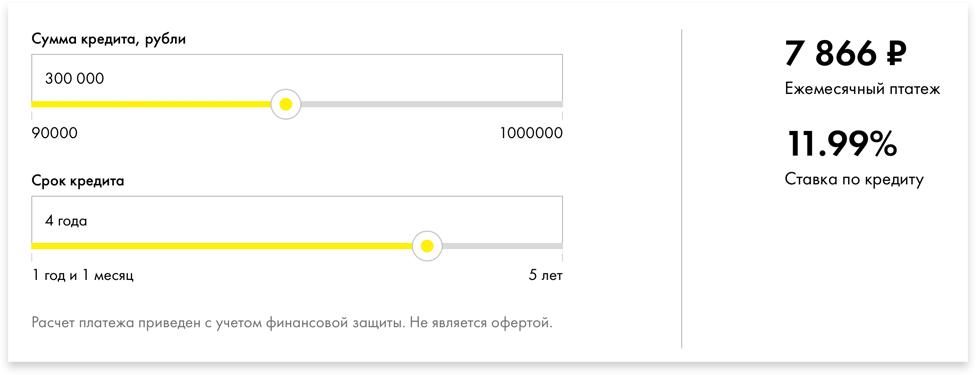 райффайзенбанк условия кредита калькулятор